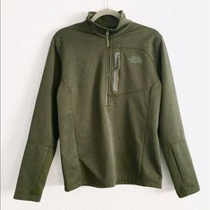 The North Face Forest Green Pullover Men's Size S